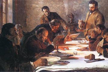 Jacek Malczewski Wigilia na Syberii