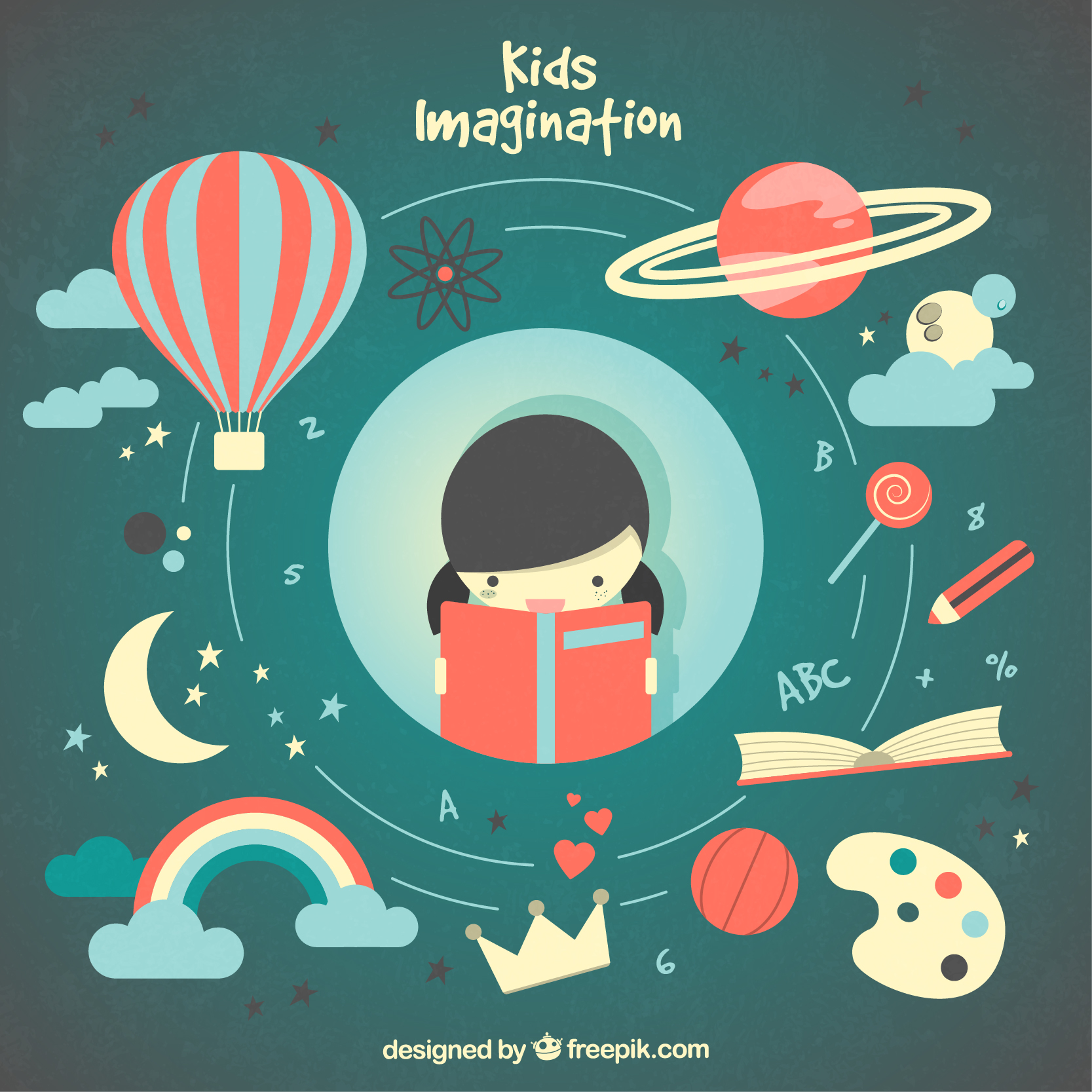 Kids imagination