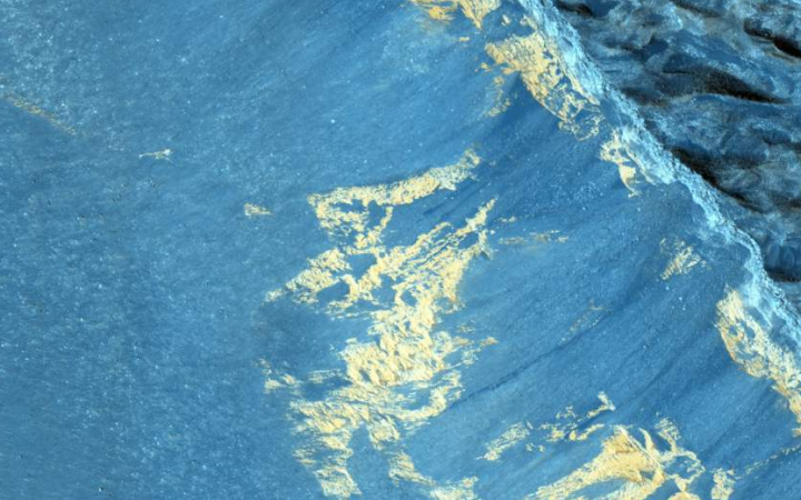 Woda na Marsie. NASA