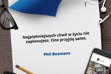 cytat Phil Bosmans