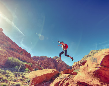 man-person-jumping-desert