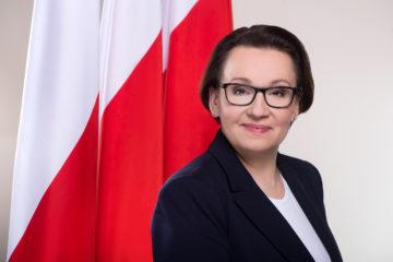 AnnaZalewska MinisterEdukacjiNarodowej
