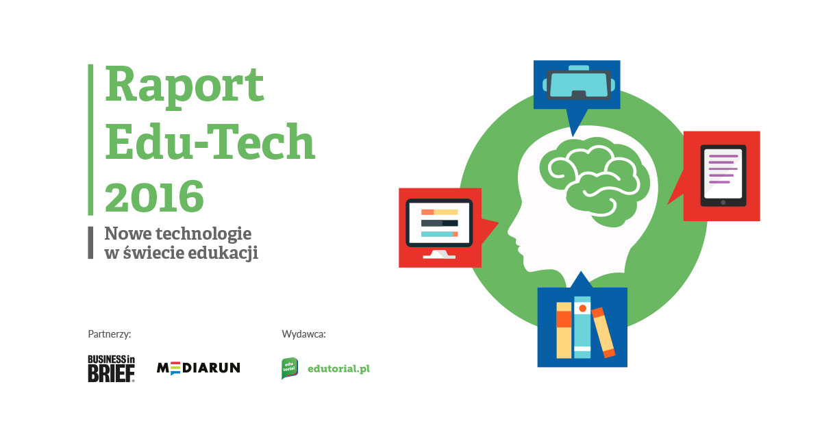 Edu-Tech 2016 Raport Edutorial okładka