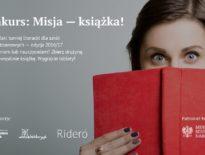 Konkurs: Misja – książka! Uczniowie napiszą i przygotują książki!