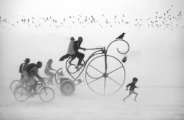 burning man festival photography victor habchy nevada