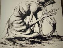 18 chorób i zaburzeń psychicznych zilustrowanych na Inktober