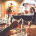 two wine celebration glasses cheers picjumbo com