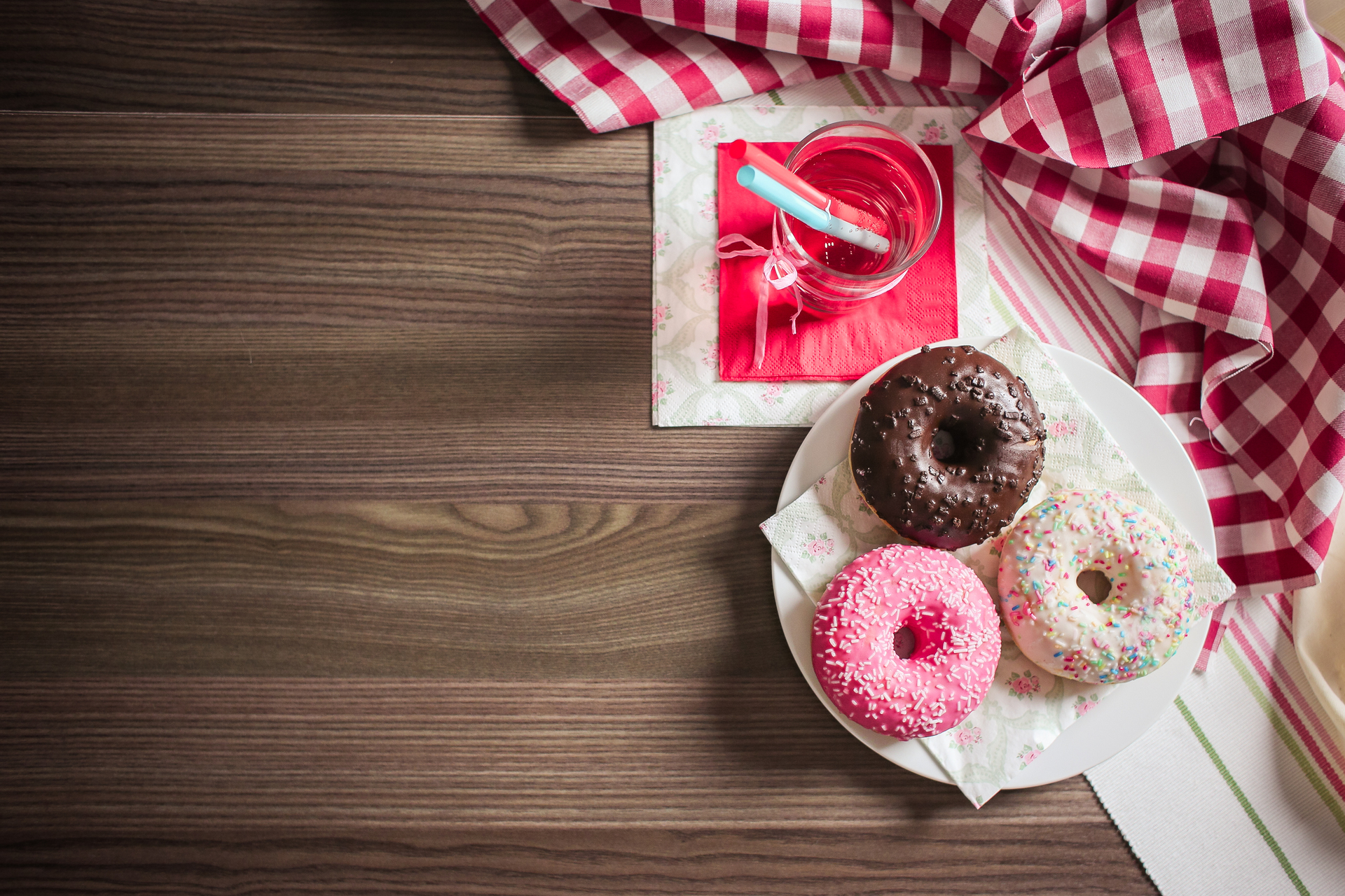 sweet colorful donuts picjumbo com