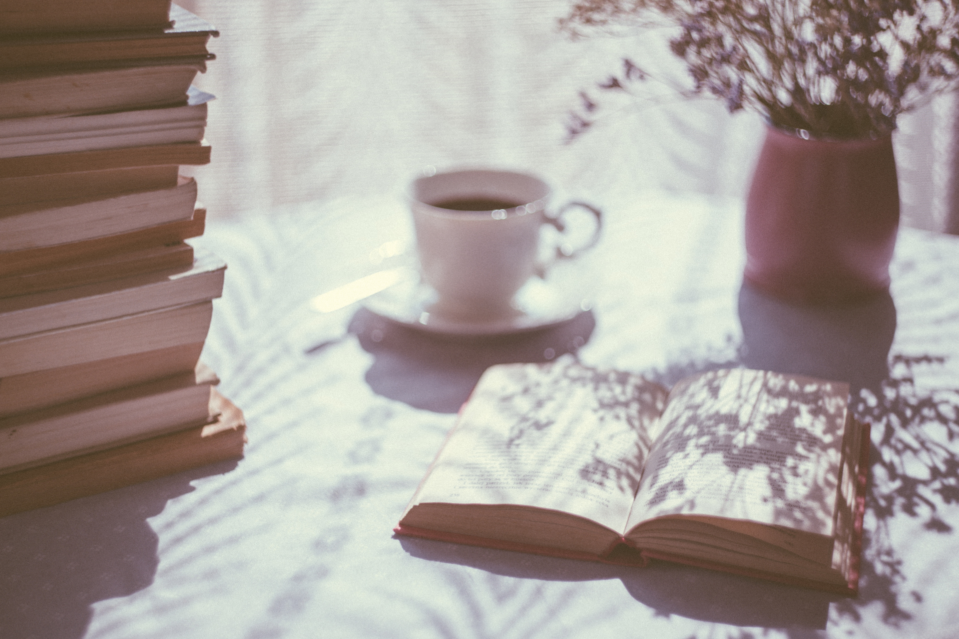coffe and books
