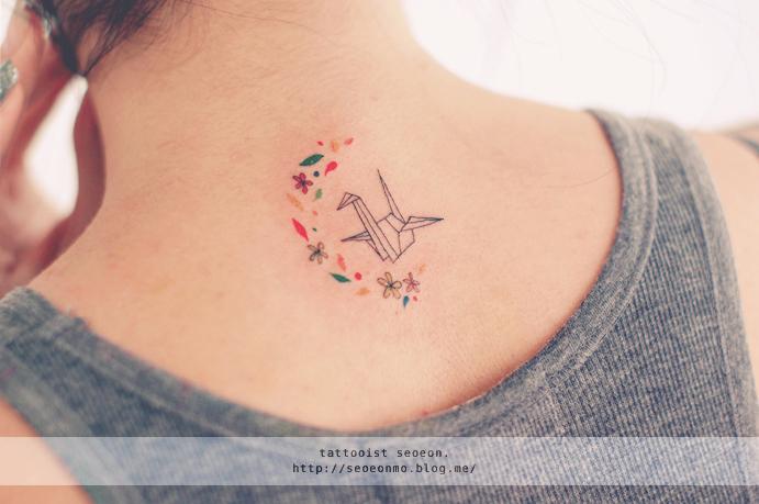 minimalistyczne dyskretne tatuaże