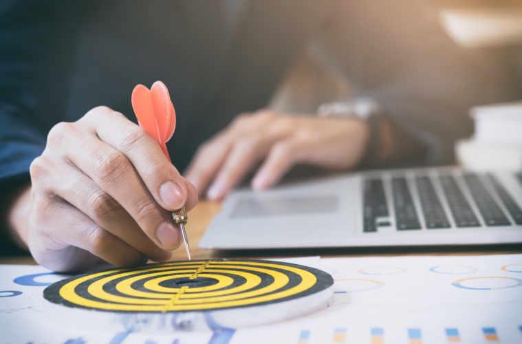 Business Strategy Success Target Goals.