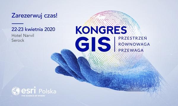 Kongres Gis 2020 Logo